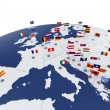 Europe map — Stock Photo #39698475