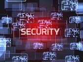 Security screen concept — Stock Photo