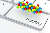 Holiday concept  — Stockfoto