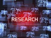 Concetto di schermata di ricerca — Foto Stock