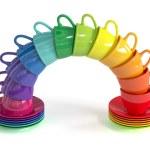 Multicolored cups — Stock Photo #48421545