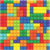 Colorful lego set  — Stock Photo