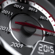 2015 year car speedometer — Stock Photo #50646839