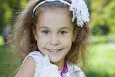 Portret młodej dziewczyny, ładny — Zdjęcie stockowe