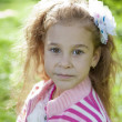 Foto Stock: Portrait of cute young girl