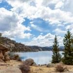 11 mile state park lake — Stock Photo #25365653