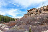 Castlewood Canyon State Park — Stock Photo