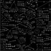 Maths pattern — Stock Vector