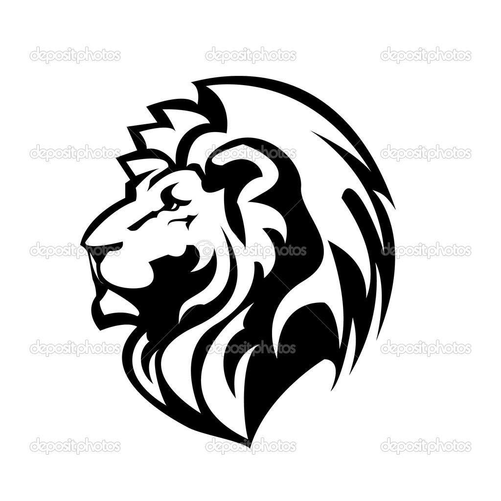 Lion Face Coloring Page AZ Pages