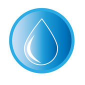 Water drop icon — Stock Vector