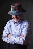 Man in the irish hat — Stock fotografie