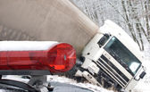 Truck crash — Stock Photo