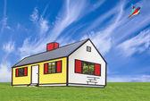 House Illustration — Stock Photo