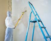 Painter woman — Stock Photo