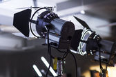 Lighting equipment two lamps — Foto Stock