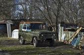 Soviet off-road vehicle — Stok fotoğraf