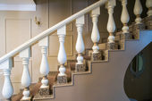Vintage classic staircase — Stock Photo