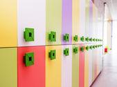 Modern school interior — Stock Photo