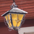 Old Hanging Light — Stock Video #16227861
