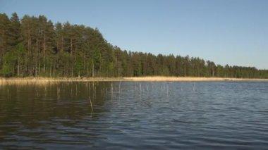 Gita in barca su un fiume — Video Stock