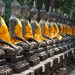 Stock Photo: AyutthayUNESCO temples