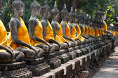 Ayutthaya UNESCO temples — Stock Photo