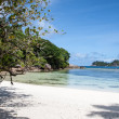 Anse Takamaka Beach in Seychelles — Stock Photo