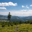 Karkonosze Mountain Views and Trekking — Stock Photo