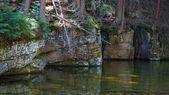 Szklarki Waterfall in Karkonosze Mountains — Stock Photo
