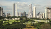 Manila Skyline — Stock Photo