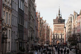 Gdansk Old Town in Poland — Stock Photo
