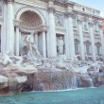 Fontana di trevi — Stockfoto