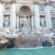 The Trevi Fountain - 图库照片