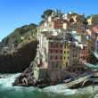Royalty-Free Stock Photo: Colored Riomaggiore