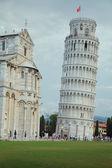 белая башня — Стоковое фото