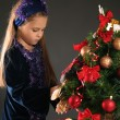 Stock Photo: Tree and girl
