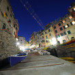 Dusk in Cinque Terre — Stock Photo
