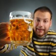 Drunk guy — Stockfoto