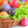 Bright eggs - Stock Photo