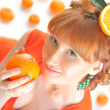 Bright orange - Stock Photo
