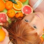 Close orange — Stock Photo #21595777