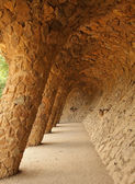 Guell in spain — Stock Photo