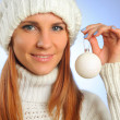 snow ball — Stock Photo