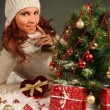 Cute christmas — Stock Photo