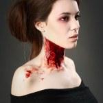 retrato de um vampiro — Foto Stock