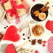 Valentine's composition — Stock Photo