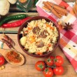 Uzbek plov — Stock Photo #40100463