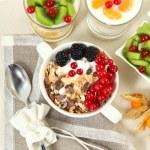������, ������: Breakfast on table