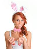 Bunny pose — Stock Photo