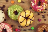 Coloured food — Stock Photo
